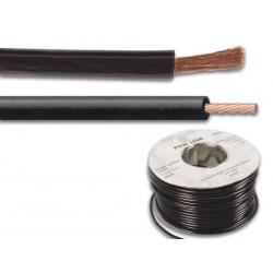 OFC CABLE D'ALIMENTATION - 6mm² - NOIR - 100m