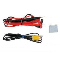 MULTIMETRE NUMERIQUE LCD 3 1/2 - 24 GAMMES / 10A / SONDE TEMPERATURE / CAPACITE / FREQUENCE