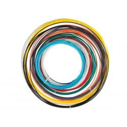 ASSORTIMENT DE FILS ABS - 1.75 MM (1/16 ) - 10 COULEURS - POUR IMPRIMANTE 3D ET STYLO 3D