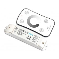 VARIATEUR LED - 1 CANAL - AVEC TELECOMMANDE RF