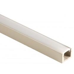 PROFILE EN MDF POUR FLEXIBLES LED - 1m