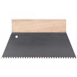 SPATULE A COLLE - 250 mm - DENTS 4 x 4 mm