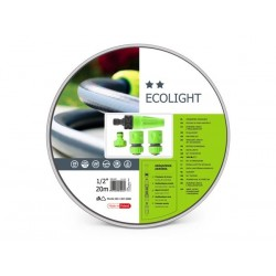 CELLFAST - ECOLIGHT SET - TUYAU D'ARROSAGE 20 m - 4 TETES - 1/2