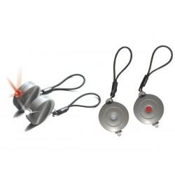ENSEMBLE LEDs SURVIVAL - 1 x LED ROUGE. 1 x LED BLANCHE