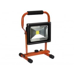 PROJECTEUR DE CHANTIER RECHARGEABLE LED - 20 W - 6500 K