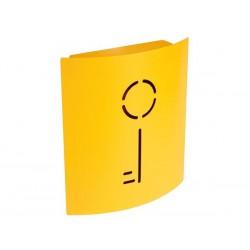 ARMOIRE A CLES - 215 x 63 x 245 mm - JAUNE