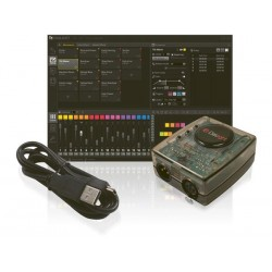 CONTROLEUR DMX VIRTUEL DASLIGHT DVC4 GOLD AVEC INTERFACE USB-DMX