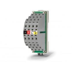 connecteur de distribution pour cables bus pour rail DIN