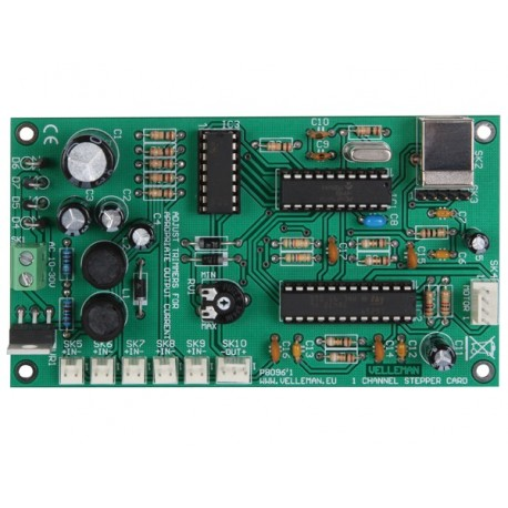 CARTE DE MOTEUR PAS-A- PAS A 1 CANAL AVEC INTERFACE USB