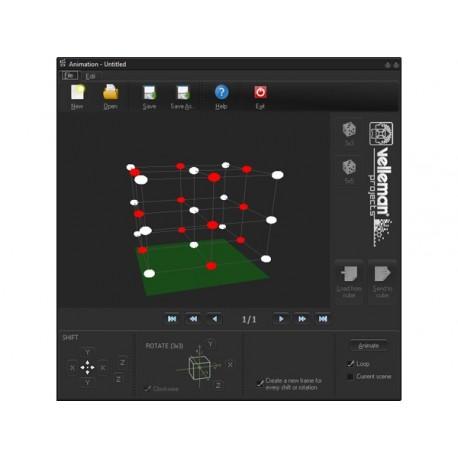 CUBE A LED 3D - 3 x 3 x 3