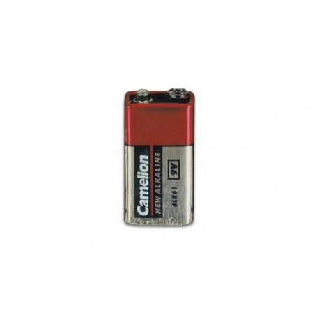 ALCALINE E-BLOCK 9V-500mAh (1pc/film retractable)