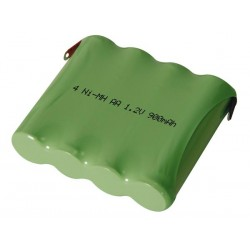 PACK NI-MH 4.8V-900mAh AVEC COSSES A SOUDER