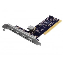 EMINENT - CARTE PCI A 4 1 PORTS USB 2.0