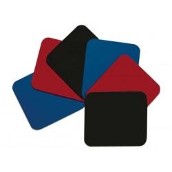 EMINENT - TAPIS DE SOURIS - ROUGE (2x). NOIR (6x). BLEU (2x)