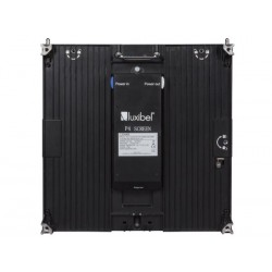 LUXIBEL NTRA P4 - 6 x P4 FULL COLOUR DIE-CAST INDOOR LED SCREEN IN FLIGHTCASE - INTEGRATED SMD BLACK LED