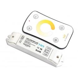 VARIATEUR LED DE TEMPERATURE DE COULEUR - AVEC TELECOMMANDE RF