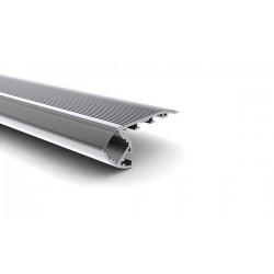 PROFILE EN ALUMINIUM POUR FLEXIBLES LED - ESCALIER - 2m