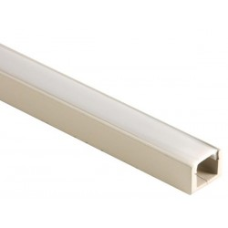 PROFILE EN MDF POUR FLEXIBLES LED - 1m