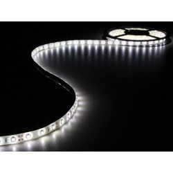 ENSEMBLE DE BANDE A LED FLEXIBLE ET ALIMENTATION - BLANC FROID - 180 LED -3 m - 12 VCC