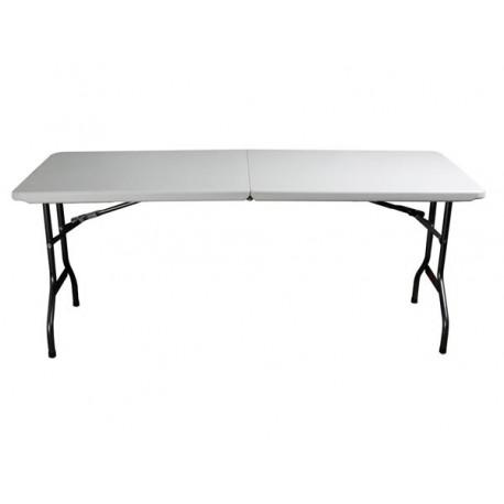 fp180 table pliante 180 x 75 x 74 cm. Black Bedroom Furniture Sets. Home Design Ideas