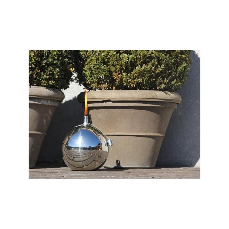 Bb50404 Lampe A Huile Pour Usage Exterieur Boule