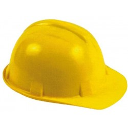 CASQUE DE CHANTIER - JAUNE