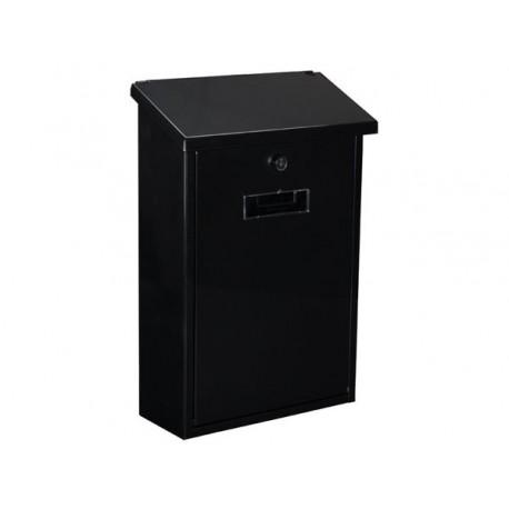 bg10002 boite aux lettres rio noir. Black Bedroom Furniture Sets. Home Design Ideas