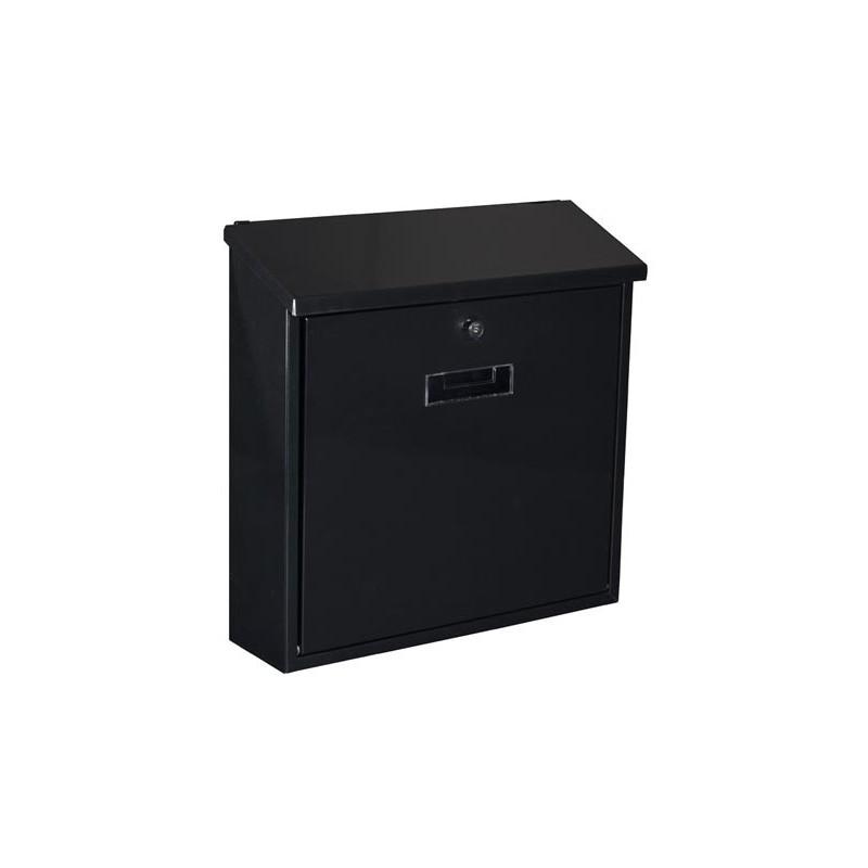 bg30002 boite aux lettres monaco noir. Black Bedroom Furniture Sets. Home Design Ideas