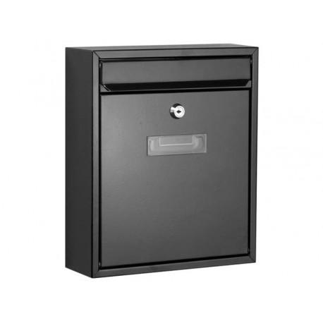 bg40002 boite aux lettres ibiza noir. Black Bedroom Furniture Sets. Home Design Ideas
