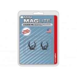 MAGLITE - CROCHETS DE FIXATION POUR MINI R6/MINI 2AA/LED PRO /LED PRO - 2 pcs