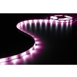 RUBAN A LED FLEXIBLE. CONTROLEUR ET ALIMENTATION - RVB - 90 LED - 3 m - 12 VDC