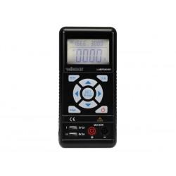 ALIMENTATION DE LABORATOIRE PORTABLE A DECOUPAGE 0-30 VCC / 0-3.75 A MAX / AVEC AFFICHEUR LCD
