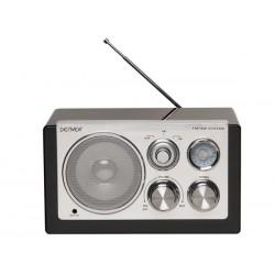 TR-61BLACK - RADIO AU DESIGN ELEGANT - NOIR