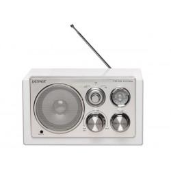 TR-61WHITE - RADIO AU DESIGN ELEGANT - BLANC