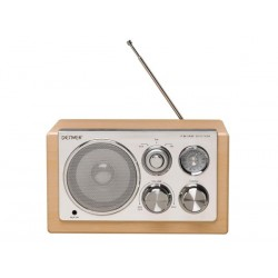 TR-61LIGHTWOOD - RADIO AU DESIGN ELEGANT - BOIS CLAIR