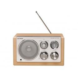 TR-61LIGHTWOOD - RADIO AU DESIGN ELEGANT - BOIS CLAIR