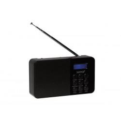 DAB-33BLACK - RADIO FM/DAB COMPACTE - NOIR