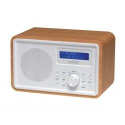 DAB-35 - RADIO DAB /FM AVEC CAISSON EN BOIS