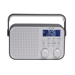 DAB-39GREY - RADIO FM/DAB AVEC AFFICHEUR LCD DE 2.8