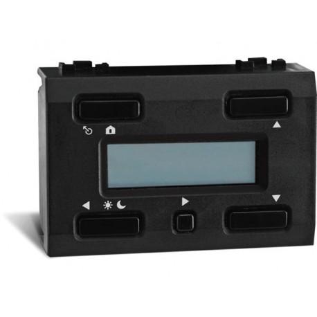 thermostat a afficheur LCD et sauvegarde du temps pour usage avec VMB1TS(W) . noir