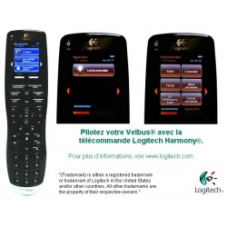module de commande avec afficheur LCD configurable 8 fonctions. noir