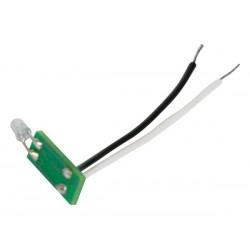 jeu de 5 LED de notification d'etat bleues pour boutons-poussoirs Niko® pour utilisation avec VMB8PBU