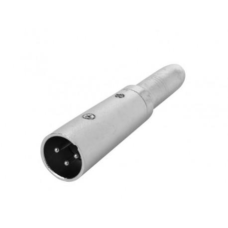 3P XLR a FEMELLE 6.35 mm JACK - MONO
