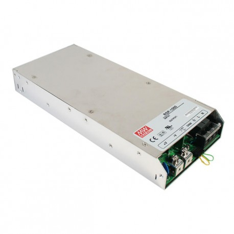 Alimentation CA/CC 24V DC 40A 960W fermée Mean Well RSP-1000-24